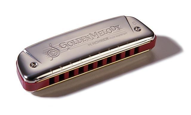 Hohner Golden Melody G - foukací harmonika