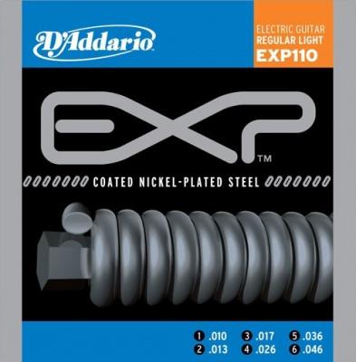 D'Addario EXP 110 - struny na elektrickou kytaru 10/46