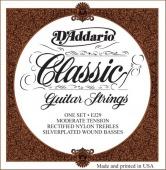 D'Addario EJ 29 - nylonové struny na klasickou kytaru