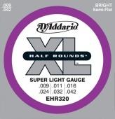 D'Addario EHR 320 - struny na elektrickou kytaru 9/42