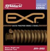 D'Addario EXP 26 - struny na akustickou kytaru 11/52