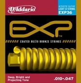 D'Addario EXP 36 - struny na 12 strunnou akustickou kytaru 10/47
