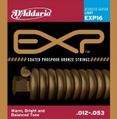D'Addario EXP 16 - struny na akustickou kytaru 12/53