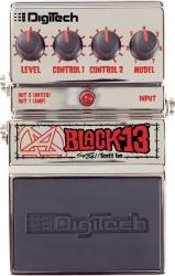 DIGITECH Scott Ian Black 13™ - kytarový efekt distortion