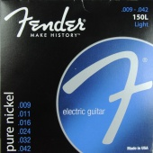 Fender 150 L Pure Nickel - struny pro elektrickou kytaru