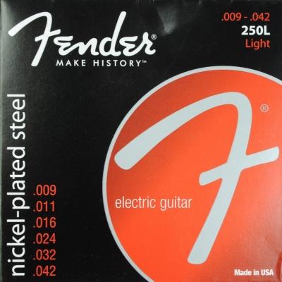 Fender 250 L - struny pro elektrickou kytaru
