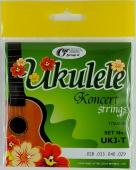 UK3-T - Struny pro koncertní ukulele