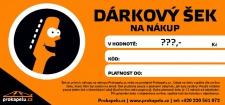 Dárkový šek flexibilní hodnota - k nákupu na Hudebni-dum.cz