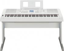 Yamaha DGX 650 WH - digitální piano s doprovody