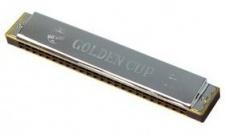 Golden Cup JH 024 E - diatonická foukací harmonika