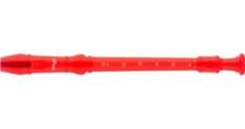 Stagg REC BAR/TRD - sopránová zobcová flétna průhledná červená