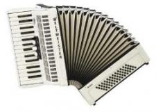 Weltmeister Model Rubin 30/60/II/3 klávesový akordeon