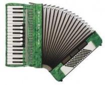 Weltmeister Model Achat 34/72/III/5/3 klávesový akordeon