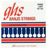 GHS 220 10.5/28 - kovové struny pro 4strunné banjo (tenor light)
