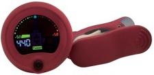 RockTuner CT 10 RED - chromatická ladička s vizuálním metronomem