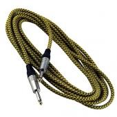 Warwick RCL 30205 TCD/GOLD - kabel J-J 5m látkový