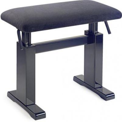 Stagg PBH 780 BKM VBK - hydraulická klavírní stolička