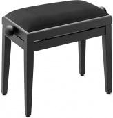 Truwer TB 05 BKM VBK - klavírní stolička černá