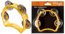 Stagg TAB MINI/YW - mini tamburína žlutá