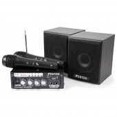 Fenton - mini Karaoke Audio Set, MP3, FM, Bluetooth