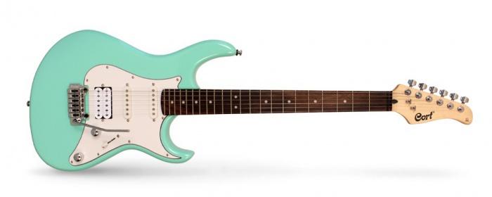 Cort G 260 ALDER SFG - elektrická kytara stratocaster zelená