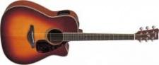 Yamaha FGX 720SC Brown Sunburst - elektroakustická kytara