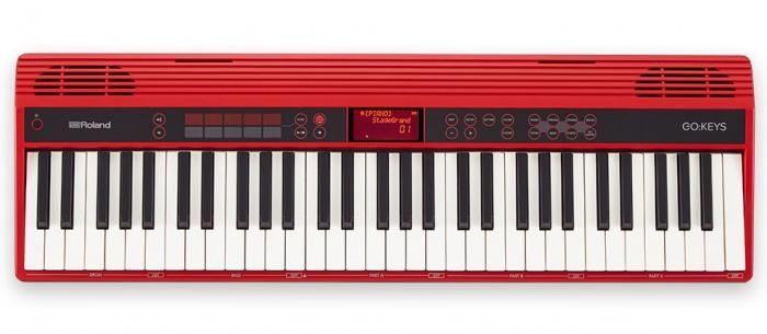 Roland GO: KEYS - keyboard s dynamikou
