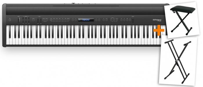 Roland FP60 BK SET 2XB