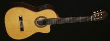 ESTEVE 7 CE (smrk) - klasická kytara se snímačem