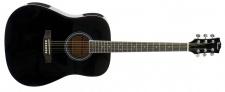 Truwer WG 4111 TOMMY BLACKSMITH - westernová kytara černá