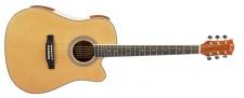 Truwer WG C 4115 NT - westernová kytara natural s výkrojem