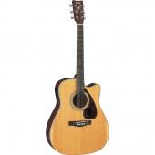 Yamaha FX370C-TBS - elektroakustická kytara natural