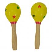 Truwer DP 267 2 - žluté maracas s puntíky