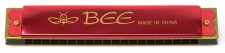Truwer L 410 A RD - červená foukací harmonika v C