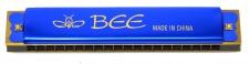 Truwer L 410 A BL - modrá foukací harmonika v C