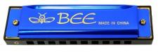 Truwer L 417 A BL - modrá foukací harmonika v C