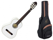 Ortega R 121 1/2 WH - klasická kytara s obalem