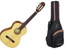 Ortega R 121 3/4 NAT - klasická kytara s obalem