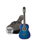 Ashton SPCG 12 BL Pack - klasická 1/2 kytara s obalem