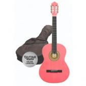 Ashton SPCG 34 PK - klasická 3/4 kytara s obalem