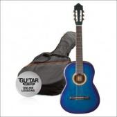 Ashton SPCG 34 BL - klasická 3/4 kytara s obalem