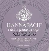 Hannabach 900 Silver 200 - nylonové struny pro klasickou kytaru (medium/low tension)
