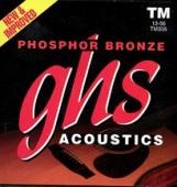 GHS TM 335 PhBr - kovové struny pro akustickou kytaru 13/56