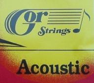 Gor Acoustic 6B12 92 Br - kovové struny pro 12 strunnou akustickou kytaru (medium) 12/52