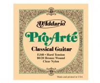 D'Addario struna E J 4806 Pro Arté - nylonová struna pro klasickou kytaru (hard tension)