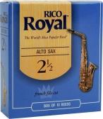 Plátek Rico Royal pro altový saxofon - tvrdost 2,5