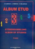 Album etud 3 - Kleinová, Fišerová, Mullerová