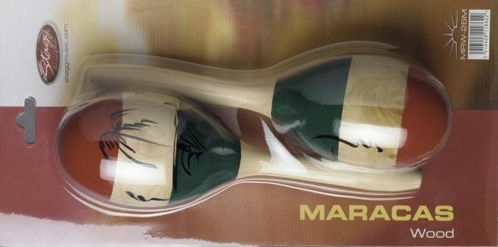 Stagg MRW 26M - maracas