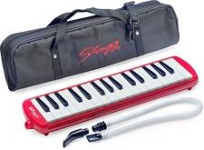 Stagg MELOSTA 32 RD -  Klávesová foukací harmonika