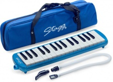 Stagg MELOSTA 32 BL -  klávesová foukací harmonika